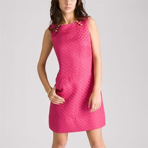 Shoshanna Quilted Shift Dress at Rue La La