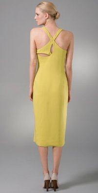 Back View Calvin Klein Collection Kenney Gown