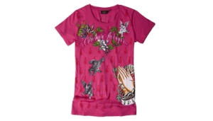 Christian Audigier Pink Faith, $68@Ideeli