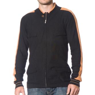 Cloth Logic Zip Up Sweater
