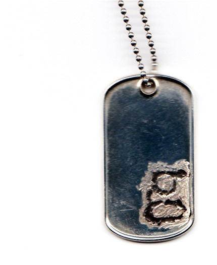 i am your letter dog necklace $68.80