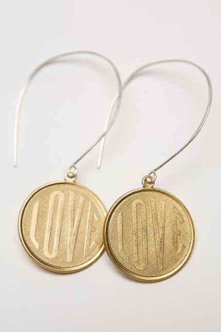Love Coin Earrings