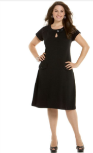 Nine West Short Sleeve Plus Size Dress, $83.40 at Macy's