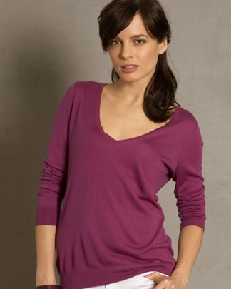 Martin + Osa Perfect V-Neck Sweater $49.50