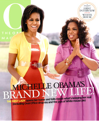 Michelle Obama on O Magazine