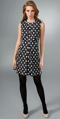 Milly Pocket Pleat Shift Dress, $108