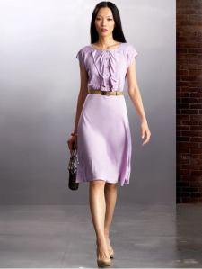 Banana Republic Silk Ruffle Dress, $67.99