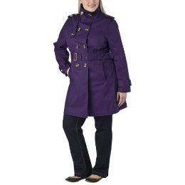 Standing Collar Trench, $54.99 at Target