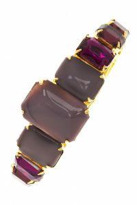 Vintage Crystal Stone Hinge Bracelet, $64/Alex and Ani @Hautelook