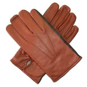 Mens Two Tone Cashmere Lined Leather Gloves, $55.95 @Amazon.com