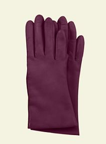 Cashmere Lined Leather Gloves, $29.99@ Lands End