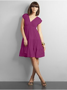 NY&Co. City Stretch Tiered Dress, $29.95