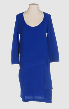 Diane Von Furstenburg - Short dress, $195 on YOOX