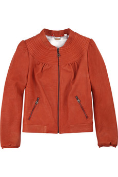 Doma Stitched Leather Jacket, $242.50, Sz. L