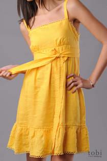 Juicy Linen Sundress, $131, Tobi.com