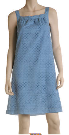 MaxStudio.com - Embroidered Sheath Dress, $98
