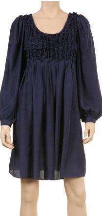 MaxStudio.com - SHIRRED DRESS, $138