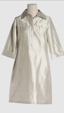 PAROSH Shirt Dress from YOOX, $155