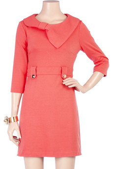 Tibi Bow Collar Dress, $177.60, Sz. M,L