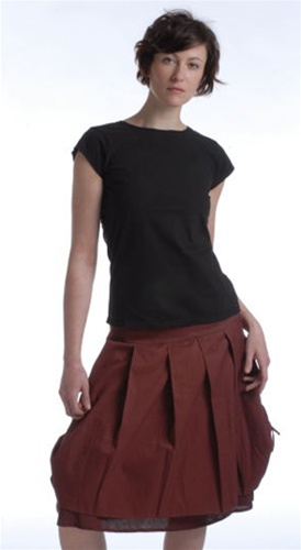 Totally Organic Talum Skirt, Greenloop, $29.99, Sz.8