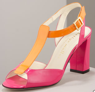 Bettye Mueller Two-Tone Sandal, $195.75